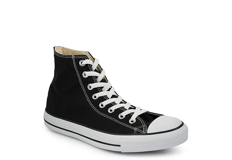 Converse Mens Chuck Taylor All Star Hi Sneaker - Black 39c255f6a