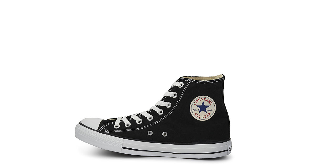 CONVERSE Mens Chuck Taylor All Star High Top Sneaker - BLACK