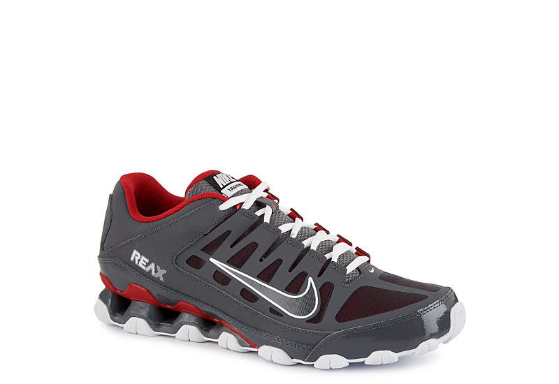 4d5d332622 Grey Nike Mens Reax 8 Tr Mesh Training Shoe | Athletic | Off ...