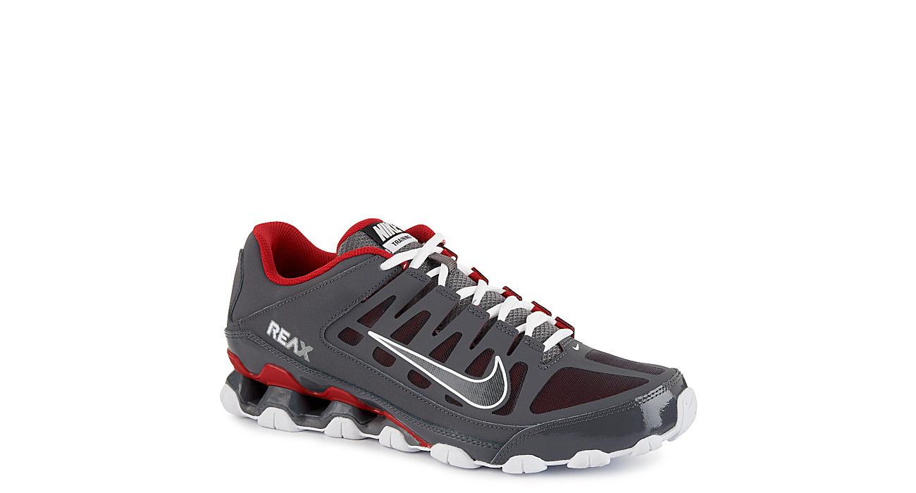 NIKE Mens Reax 8 Tr Mesh Training Shoe - GREY