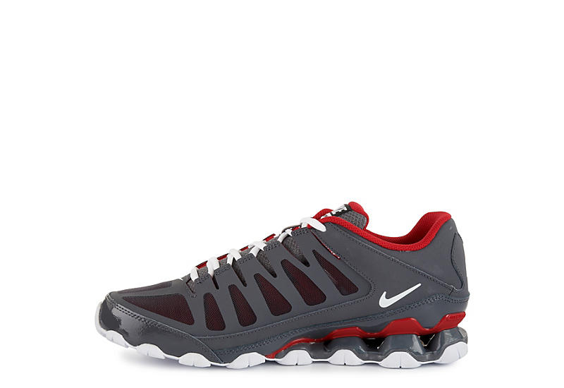 best loved 2f863 8d8d0 Nike Mens Reax 8 Tr Mesh Training Shoe - Grey