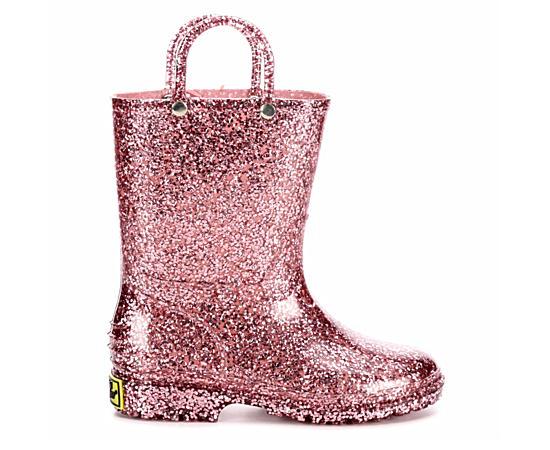 Girls Glitter Pvc