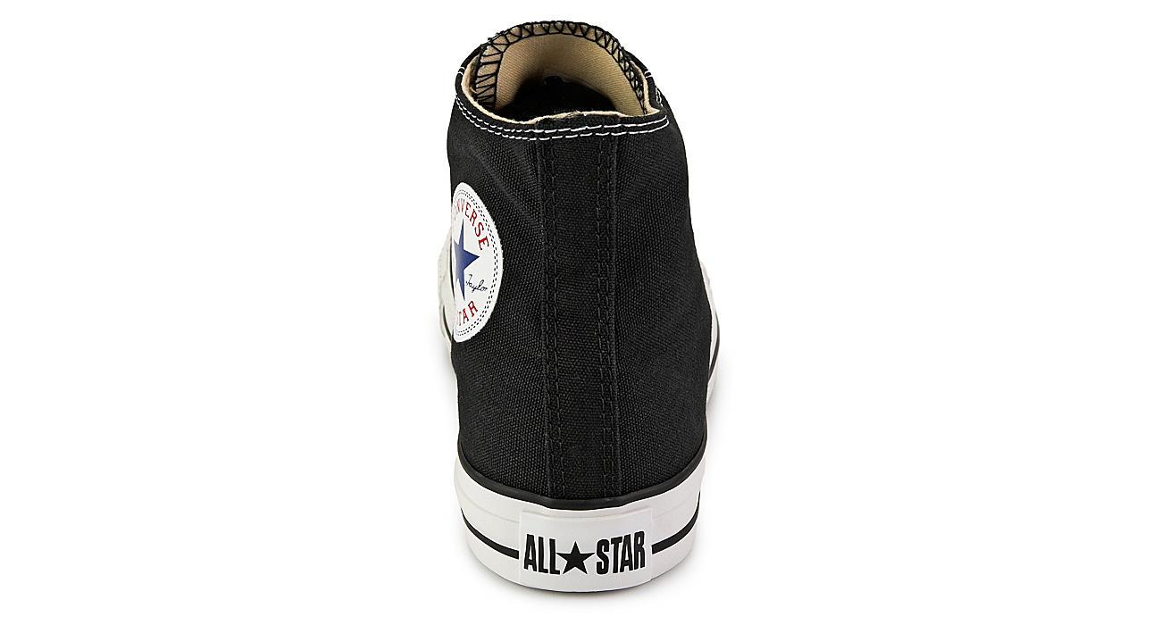 CONVERSE Womens Chuck Taylor All Star High Top Sneaker - BLACK