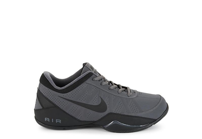 4634686c22dff6 Nike Mens Air Ring Leader Low Basketball Shoe - Grey