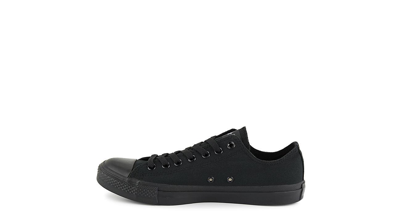 CONVERSE Mens Chuck Taylor All Star Lo Sneaker - BLACK