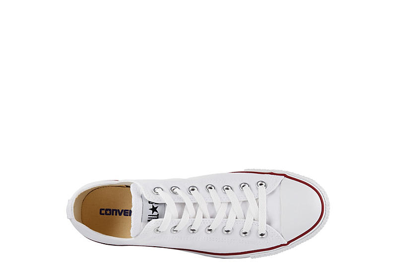 CONVERSE Mens Chuck Taylor All Star Low Sneaker - WHITE