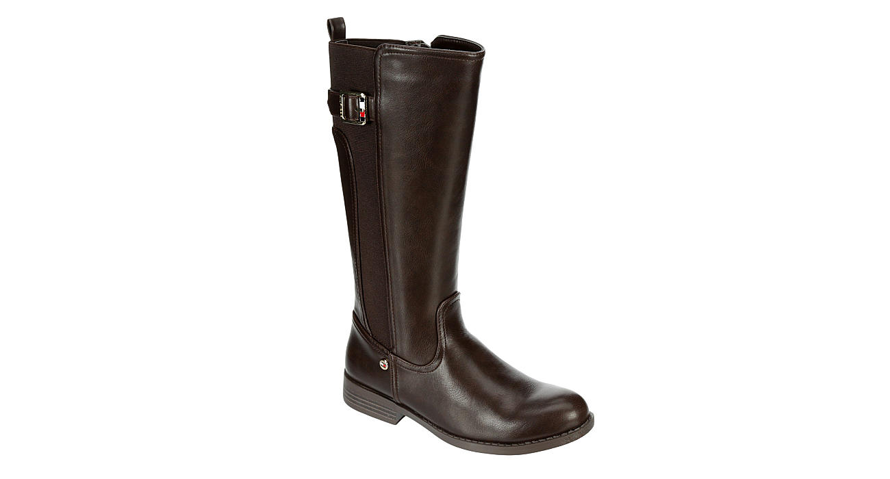 TOMMY HILFIGER Girls Vallary Trail - CHOCOLATE