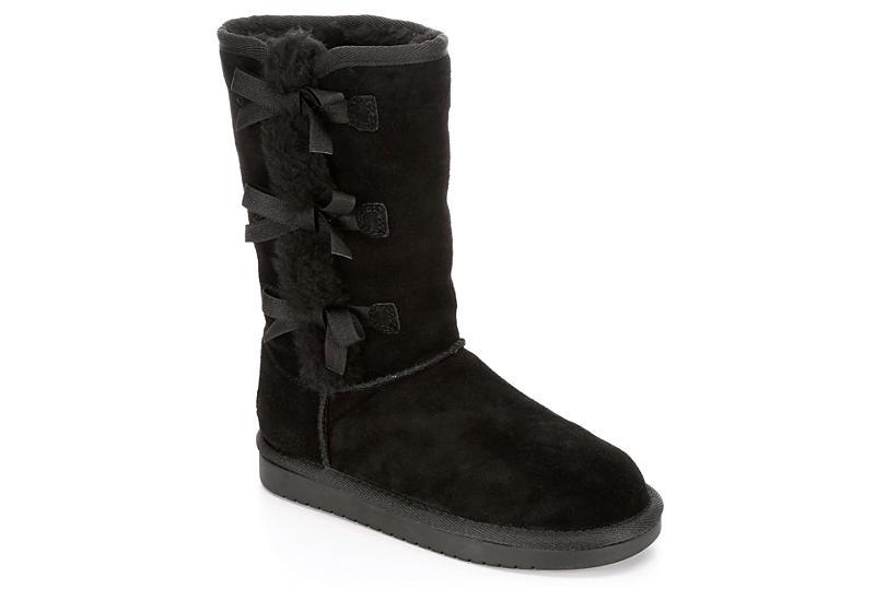 7efc42c9d Black Koolaburra By Ugg Girls Victoria Tall | Boots | Off Broadway Shoes