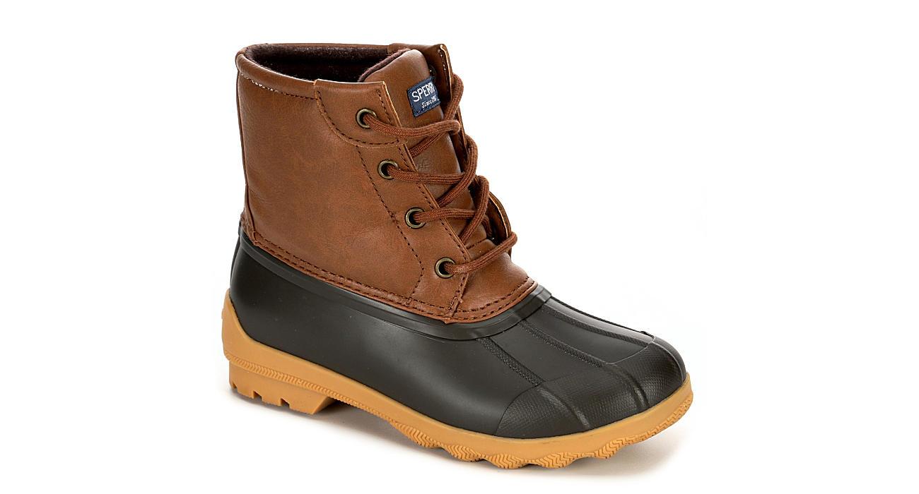 SPERRY Boys Port Duck Boot - TAN