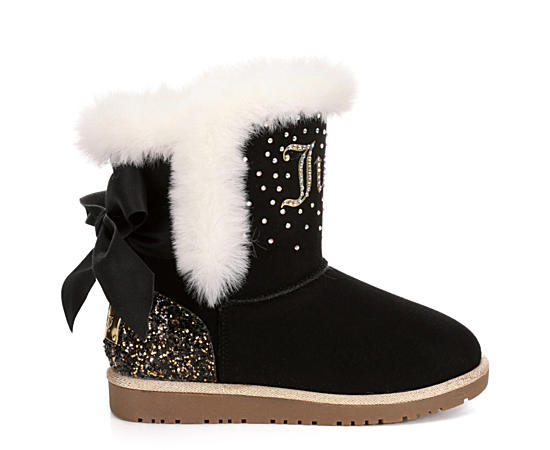 Girls Burbank Rhinestone Cozy Boot