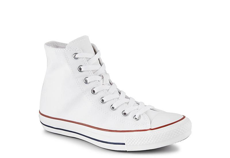 CONVERSE Mens Chuck Taylor All Star High Top Sneaker - WHITE