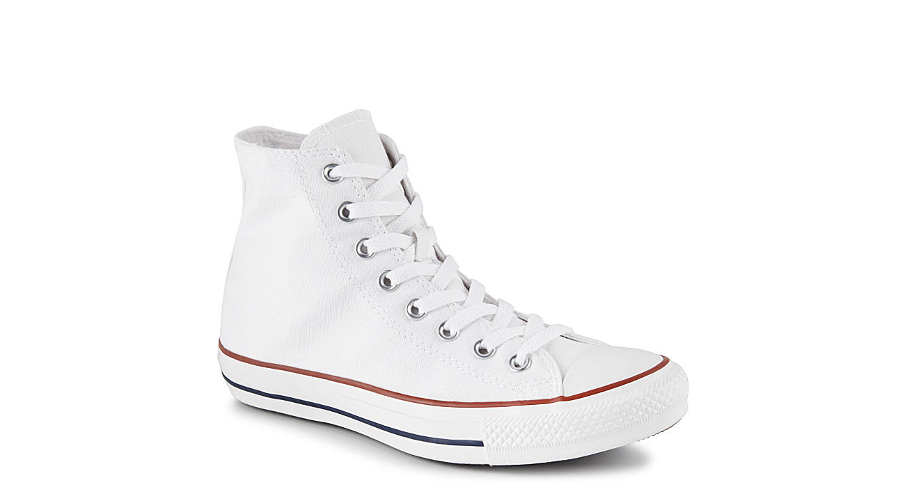 CONVERSE Mens Chuck Taylor All Star High Top Sneaker - WHITE