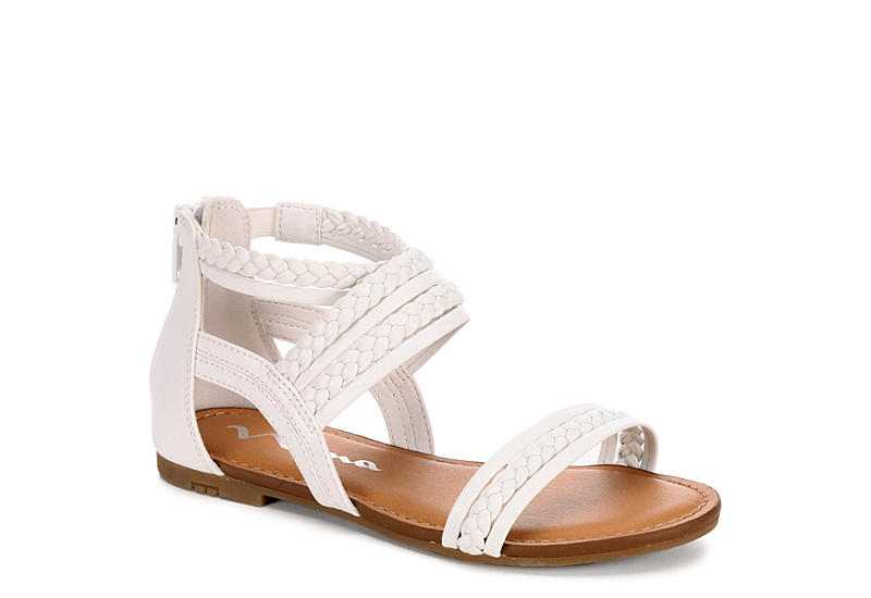 a9711cb5694f Nina Kids Girls Girls P-bell Sandals - White