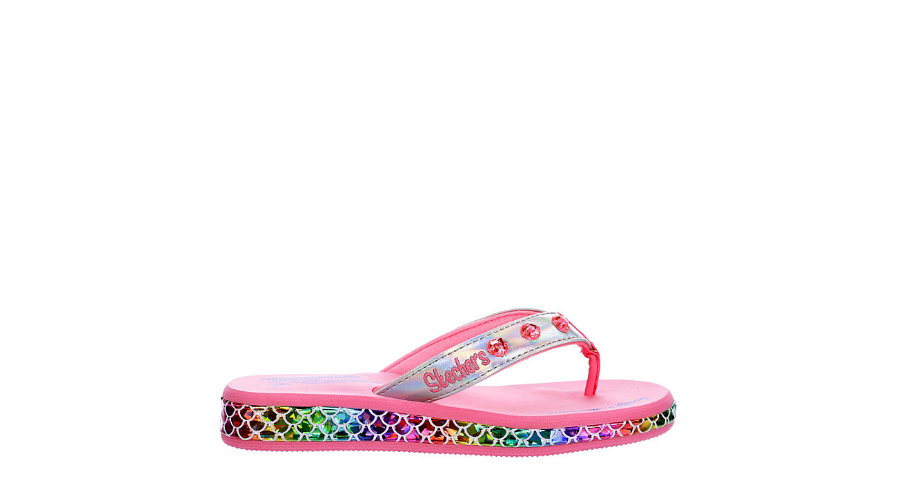 SKECHERS KIDS Girls Sunshines Sandal - SILVER