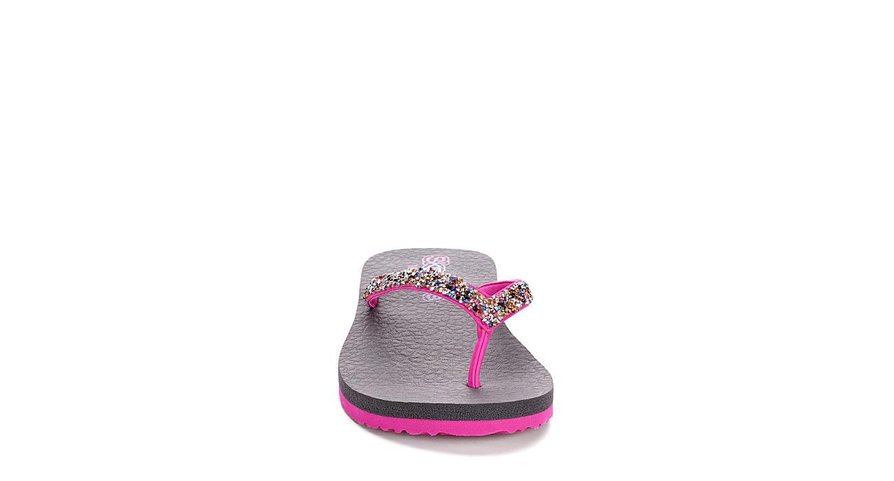 SKECHERS KIDS Girls Mediation Sandal - PINK