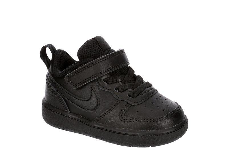 NIKE Boys Infant Court Borough 2 Sneaker - BLACK