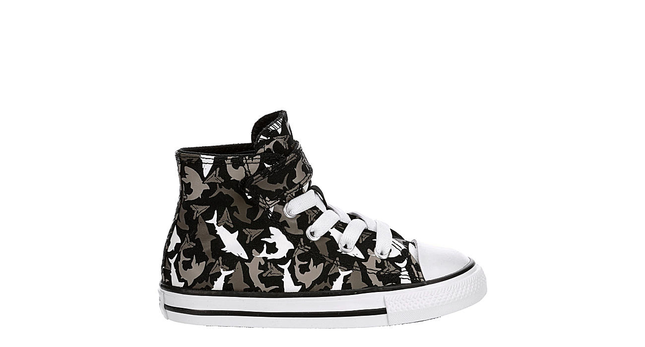 CONVERSE Boys Infant Chuck Taylor All Star High Top Sneaker - BLACK