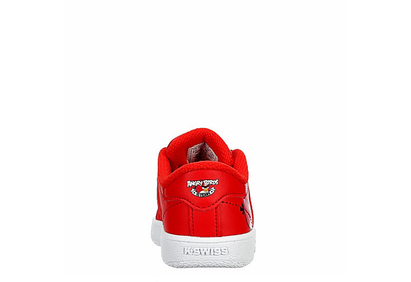 K-SWISS Boys Infant Classic Vn Angry Birds Sneaker - RED