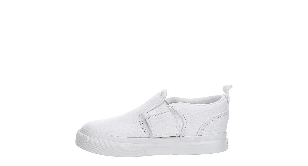 VANS Boys Infant Asher Slip On Sneaker - WHITE