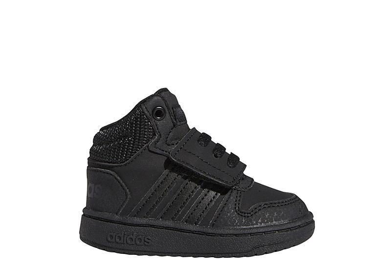 ADIDAS Boys Infant Hoops 2.0 Mid Sneaker - BLACK