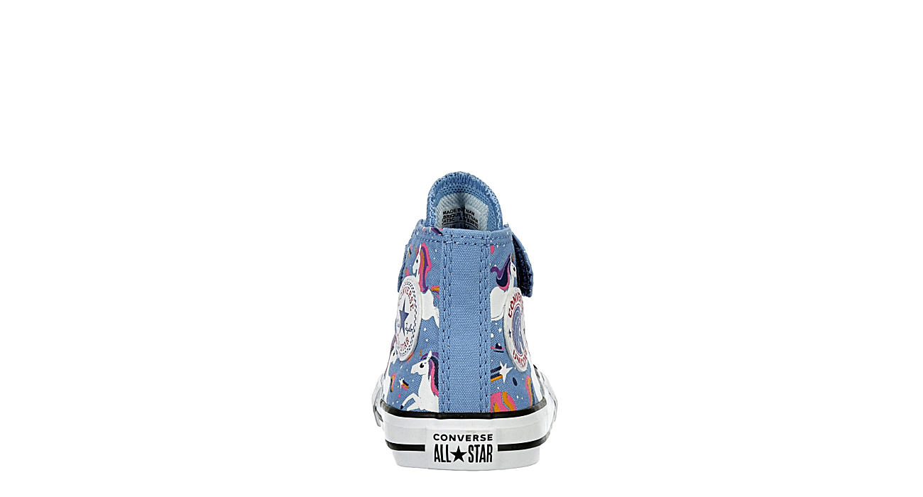 CONVERSE Girls Infant Chuck Taylor All Star High Top Sneaker - PALE BLUE