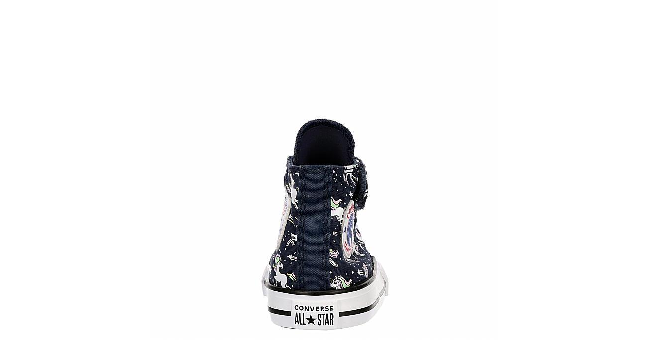 CONVERSE Girls Infant Chuck Taylor All Star High Top Sneaker - NAVY