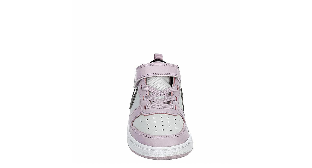 NIKE Girls Infant Court Borough 2 Sneaker - GREY