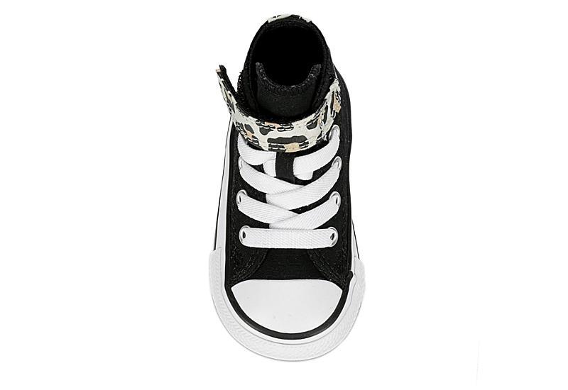 CONVERSE Girls Infant Chuck Taylor All Star High Top Sneaker - BLACK