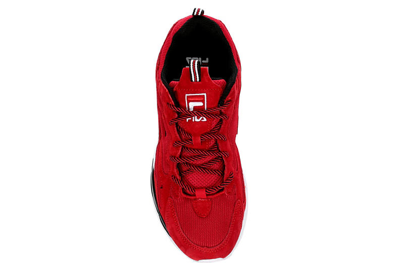 Fila Boys Ray Tracer Sneaker Red