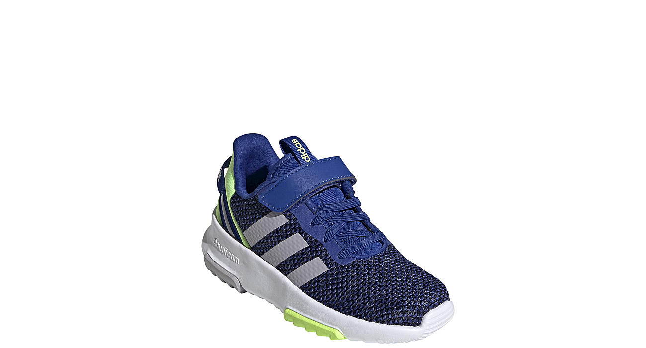 ADIDAS Boys Racer Tr 2.0 Running Shoe - BLUE