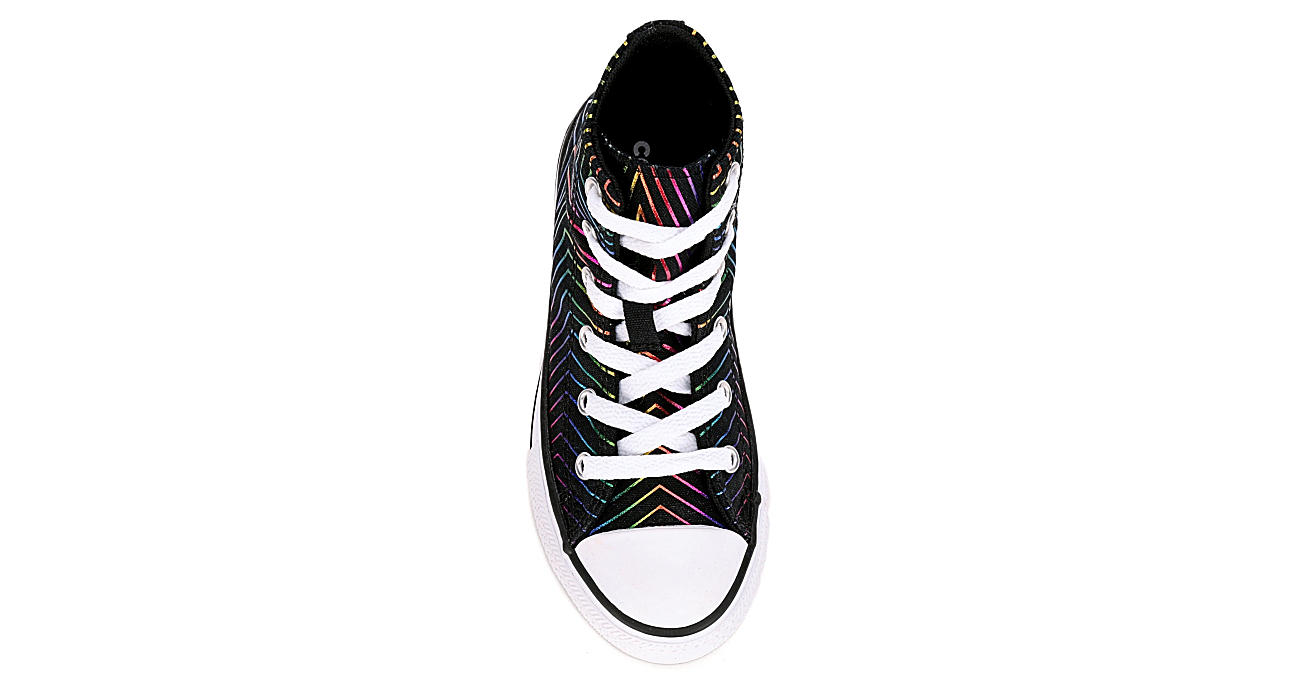 CONVERSE Boys Chuck Taylor All Star High All Of The Stars - BLACK