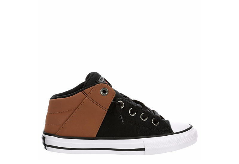 CONVERSE Boys Chuck Taylor All Star Axel Sneaker - BLACK