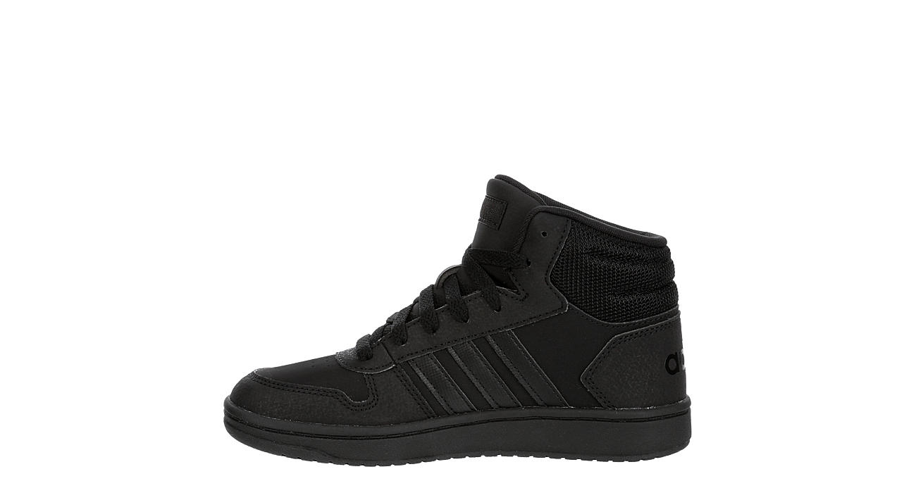 ADIDAS Boys Hoops 2.0 Mid Sneaker - BLACK