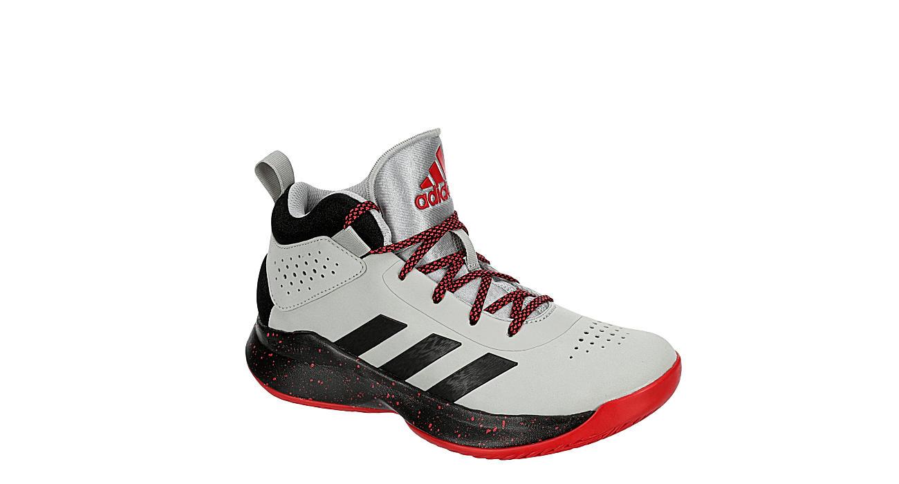 ADIDAS Boys Cross Em Up 5 Basketball Shoe - GREY