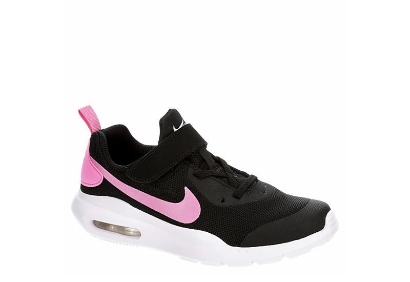 BLACK NIKE Girls Air Max Oketo Sneaker