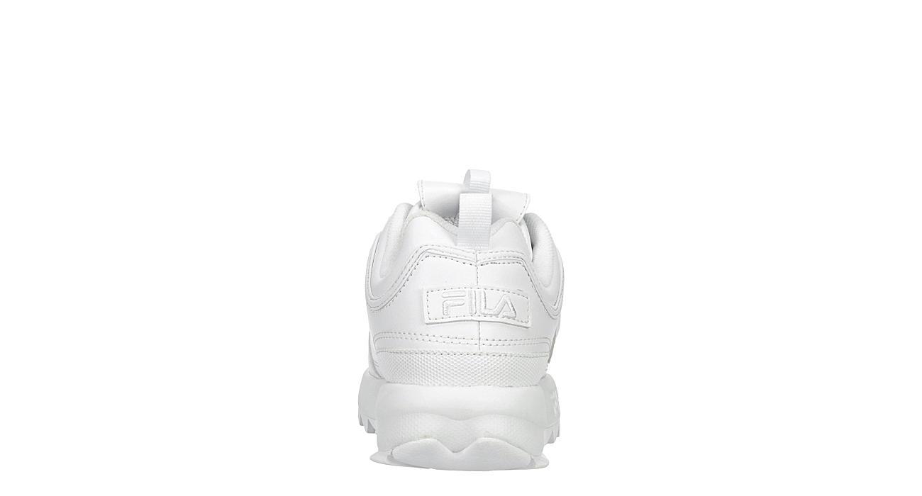 FILA Girls Disruptor Ii Premium Sneaker - WHITE