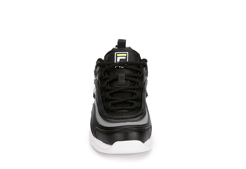 FILA Girls Ray Sneaker - BLACK