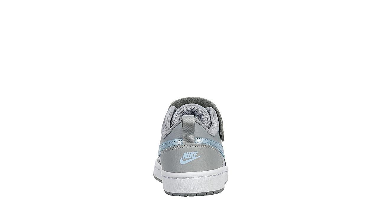 NIKE Girls Court Borough 2 Sneaker - GREY