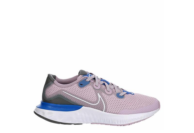 NIKE Girls Renew Run Running Shoe - LILAC