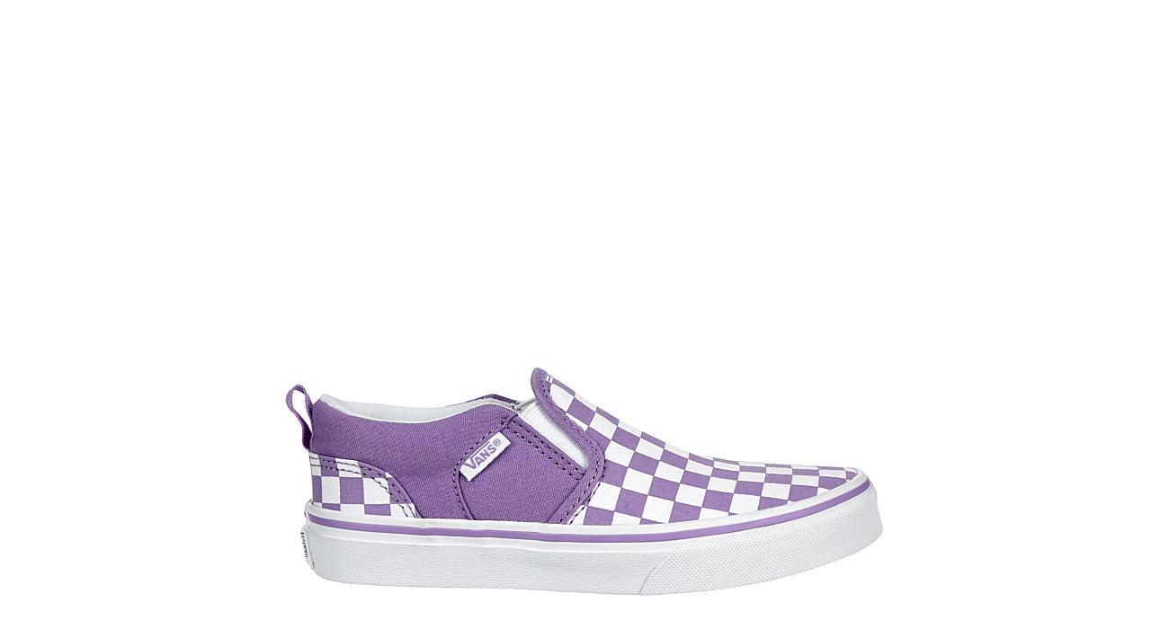 VANS Girls Asher Slip-on Sneaker - LILAC