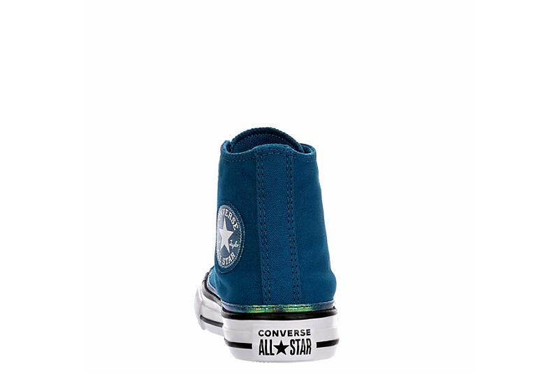 CONVERSE Girls Chuck Taylor All Star High Top Sneaker - GREEN