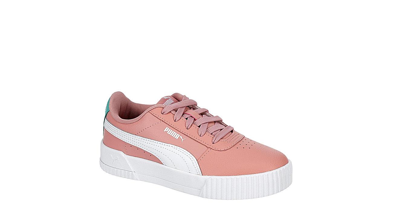 PUMA Girls Carina Sneaker - BLUSH