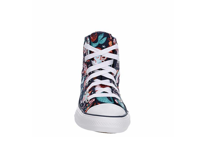CONVERSE Girls Chuck Taylor All Star High Top Sneaker - NAVY