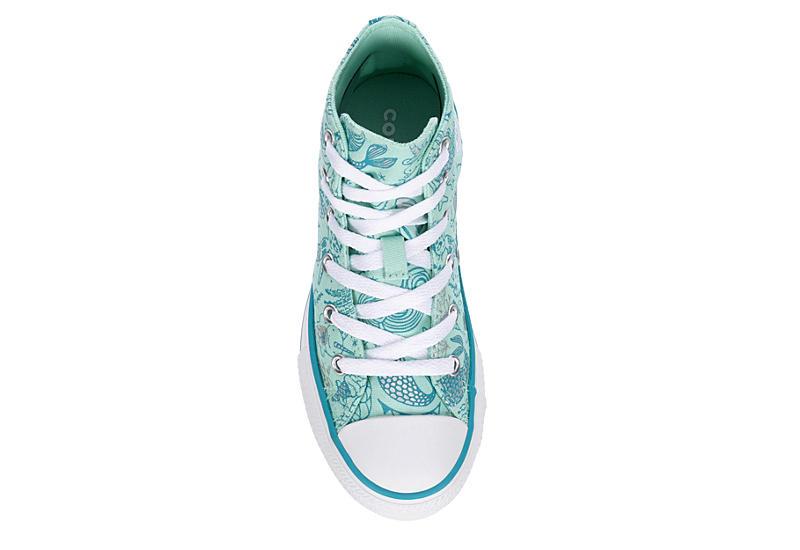 CONVERSE Girls Chuck Taylor All Star High Top Sneaker - TEAL