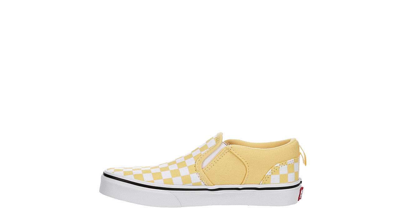 VANS Girls Asher Slip-on Sneaker - YELLOW