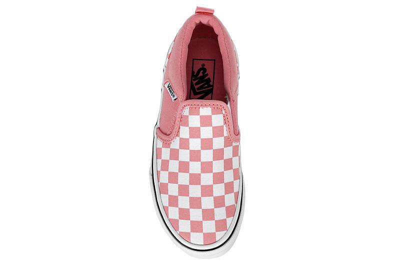 VANS Girls Asher Slip-on Sneaker - PINK