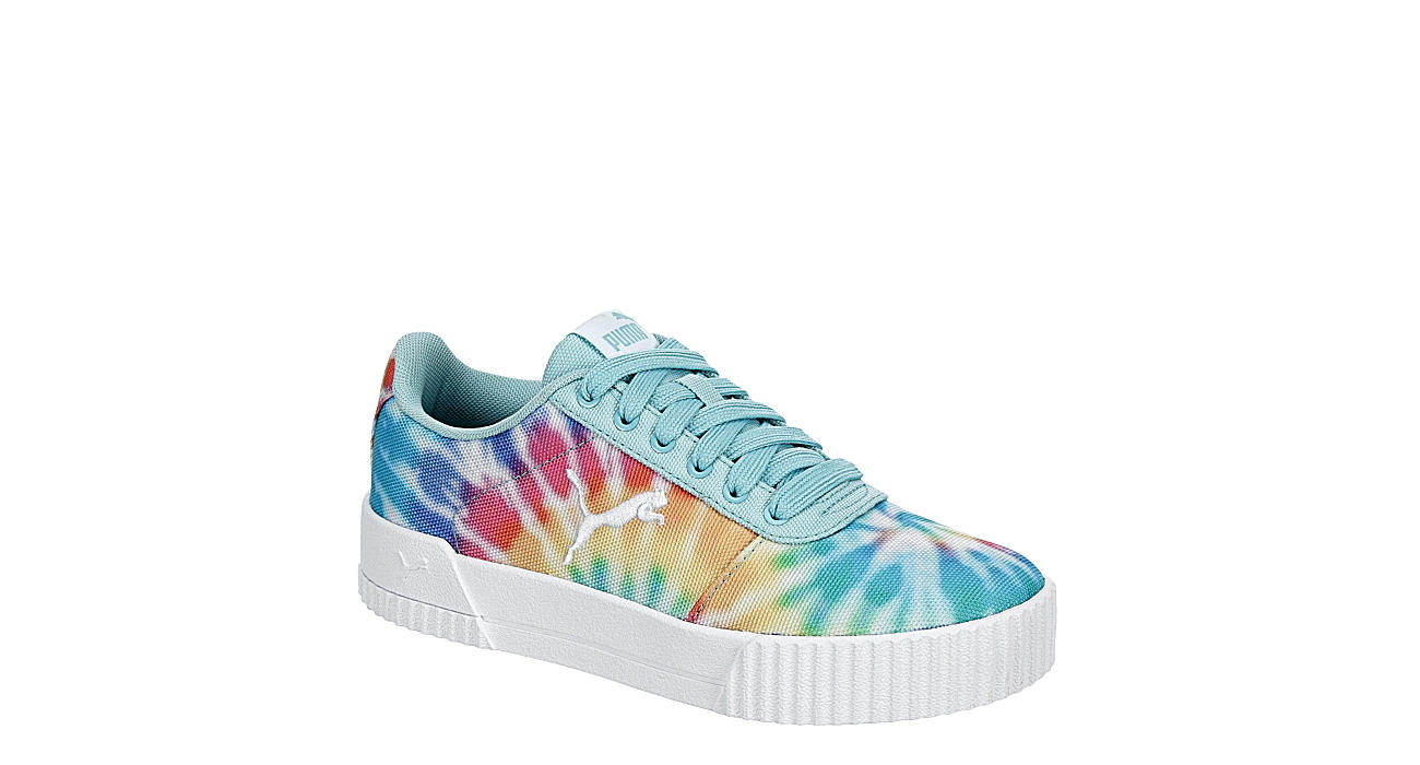 PUMA Girls Carina Sneaker - TIE-DYE
