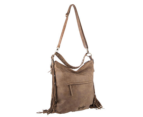 Womens Delilah Faux Suede Hobo