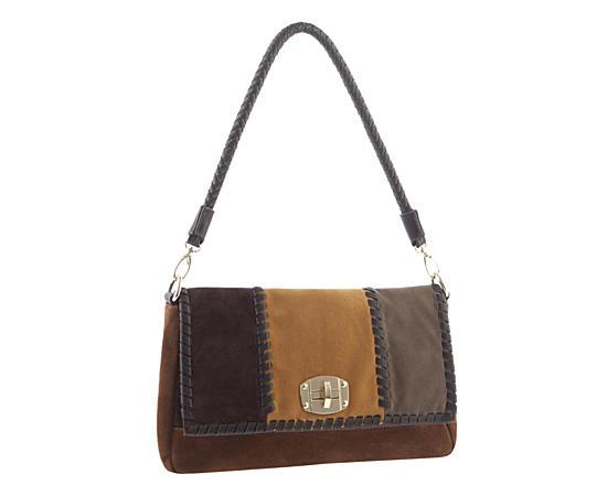 Womens Colorblock Shoulder Bag