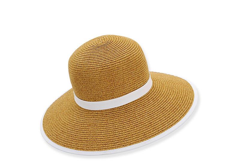 ec021385 Natural Sun N Sand Womens Paper Braid Backless Hat | Accessories ...